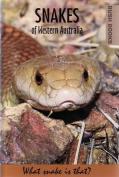 Snakes of Western Australia