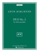 Duo No. 2: Violin and Piano