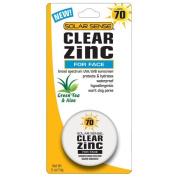 Solar Sense SPF# 70 Clear Zinc Face 15ml Jar