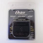 Oster TITAN/SOLARIS/APEX Clipper Blade 1