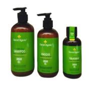 "DermOrganic Shampoo 350ml + Mask 240ml + Treatment 120ml ""Combo Set"""