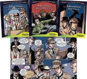 Graphic Novel Adventures of Sherlock Holmes Set 3