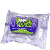 Boogie Wipes Snot Your Average Wipe with Gentle Saline Wipes