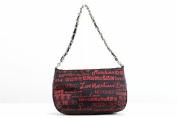 Love Moschino Women's Red/Black Logo Shoulder Satchel Handbag