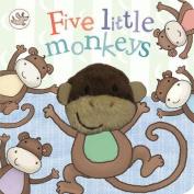 Little Learners Five Little Monkeys [Board book]