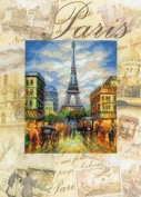 Cities of the World - Paris - Cross Stitch Kit