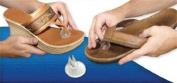 Silipos Sandal Flip-Flop Gel Toe Guards Cushions Thong Protectors (1121) -Pair-