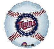 Minnesota Twins 46cm Mylar Balloons MLB Party Balloon