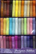 Designer Ribbon Value Pack - 36 Colours - 1 Yard Each - Grosgrain - Lots of Fun!