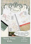 Anita Goodesign Vintage ~ Story Time Kids ~ Embroidery Designs