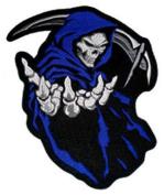 Grim Reaper (Blue) Patch 16cm x 13.5cm