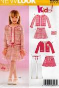 Simplicity New Look Kids! #6506 (Jacket, Skirt, Pants, Purse)