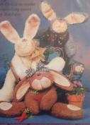 Wag Around Wabbits 48cm Floppy Rabbits - Sewing Pattern- WW70