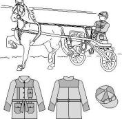 Suitability 6800 Roadster Silks Equestrian Sewing Pattern