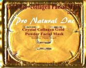 Brownylife Shop - 24k Gold Bio-collagen Facial Mask Crystal Gold Powder Collagen Facial Mask Moisturising Anti-ageing 5pcs/lot