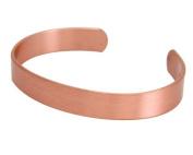 Apex Copper Bracelet, Solid Band