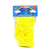 Loom Bandz - Rainbow Colours - Yellow 600 Count