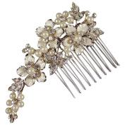 Marietta Wedding Hair Comb Medium 8cm (Gold Plated)