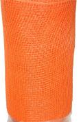 Decorative Mesh Ribbon - 10 Yards X 50cm - Orange