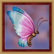 Flutter #4 Butterfly Cross Stitch Pattern