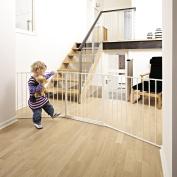 BabyDan Configure Gate Large White