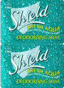 Shield Soap Aqua 4 Pack 115g x 2 Packs