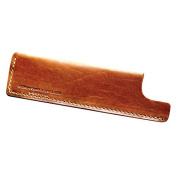 Tan Horween Leather Sheath 1 by Chicago Comb