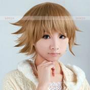 Mzcurse Dangan Ronpa Danganronpa Chihiro Fujisaki Brown Layered Cosplay Party Hair Wig