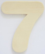 Craft Wooden Wood Number 7 Wedding Party Home Decor DIY