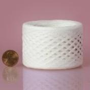 White Paper Raffia Ribbon 0.6cm x 100 yards