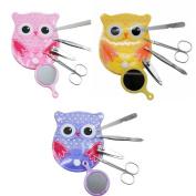 Spove Owl Design Personal Care Manicure Set 5 in 1
