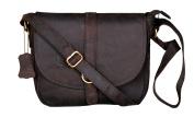 Cuero 25cm X 25cm Brown ,Genuine Leather Women's Bag /Handbag / Tote/purse/ Shopping Bag