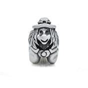 Witch 925 Sterling Silver Charm Fits Pandora Charm Bracelet