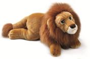Yomiko 39776-Russ Berrie Lion Lying, 28 cm