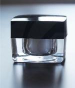 Topwon Clear Acrylic Jar Makeup 4.5 ml - 3 Pack