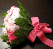 Beautiful Baby Girl Bouquet of Goodies