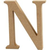 Letter, H: 8 cm, MDF, N, 1pc