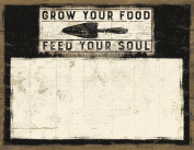"""""""Grow Food"""" Note Notepad - Set Of 2"""