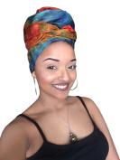 Abeni Royalty African Headwrap - Kente Scarves, Ankara Headwraps, Kente Headwraps