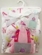 Naptime Buddies Baby Blanket 80cm x 90cm , Reversible