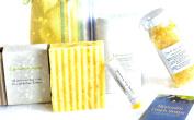 "Mountain Fresh Soaps ""Invigorating"" GIFT SET ~ Artisan, Organic, & All-Natural Soap, Lotion, Lip Balm, & Bath Salt"