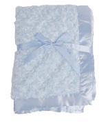 LUXEHOME Baby Comfortable Rose Fleece Blanket