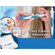 Smart Swab Ear Wax Cleaner Removal Health Care Tool Earwax Remover Soft Spiral Ear Cleaner Pick Earwax Grip Earpick Prevents earwax buildup Solution for easy use and save Ear Hygiene