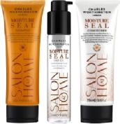 (3 PACK) Charles Worthington Moisture Seal Shampoo x 250ml & Charles Worthington Moisture Seal Conditioner x 250ml & Charles Worthington Moisture Seal Hair Oil x 50ml